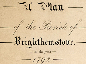 1792 map of Brighthelmstone