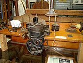 antique knitting machine