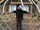 me in the yurt